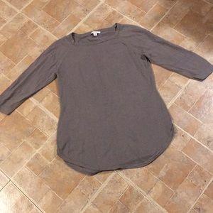 Isaac Mizrahi 3/4 sleeve thin sweater size XS